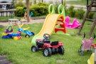 Willa Rowy miejsce dla dzieci z zabawkami. Wypoczynek w Rowach dla dziecka
