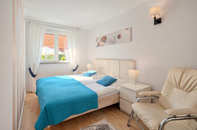 Sypialnia z łóżkiem podwójnym