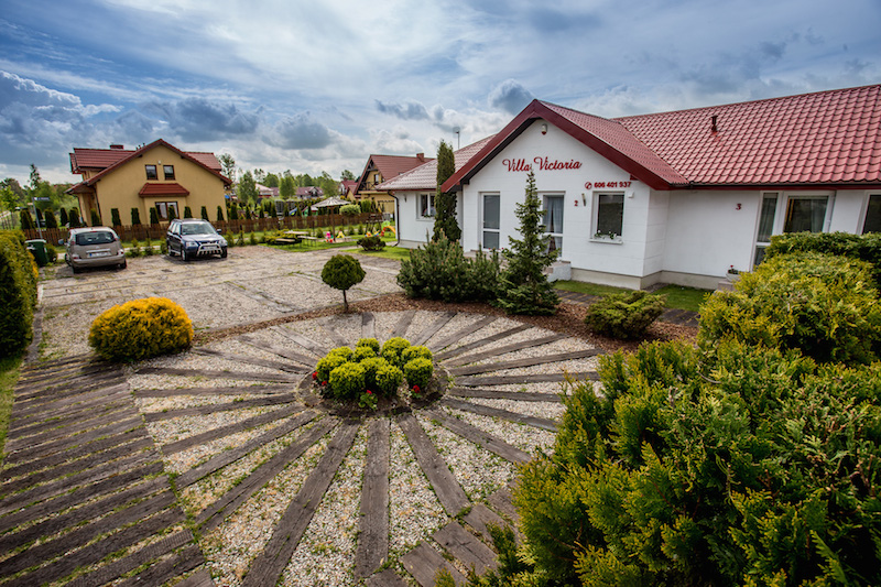 Villa Victoria domek z zewnątrz