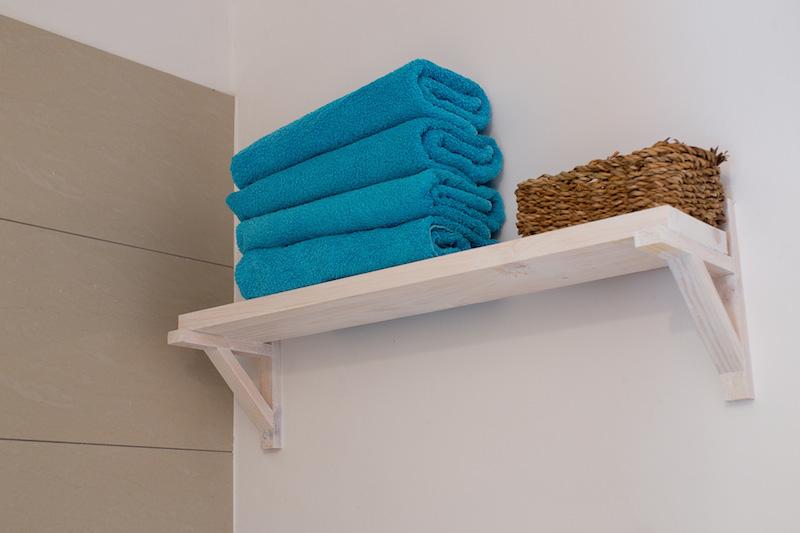 Czyste i świeże ręczniki