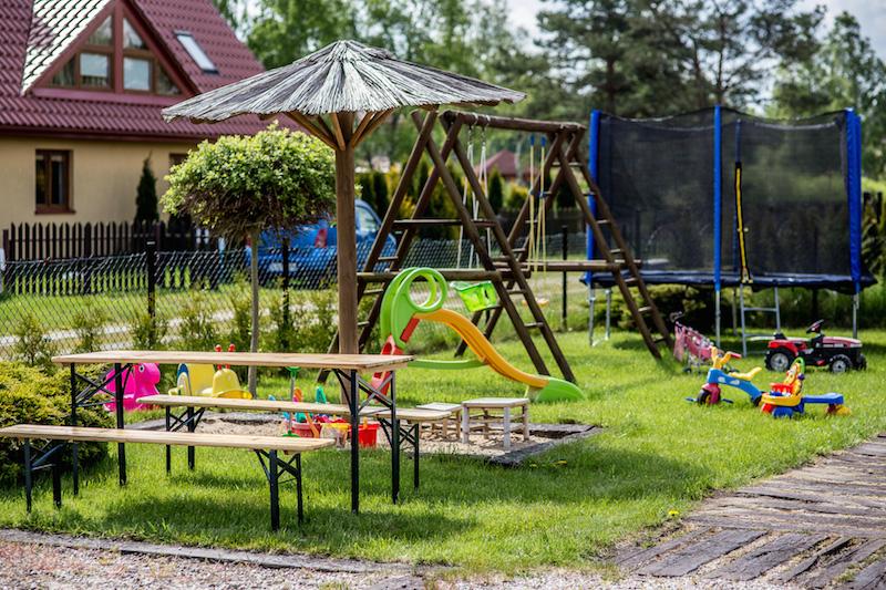 Miejsce rekreacyjne i miejsce dla dzieci
