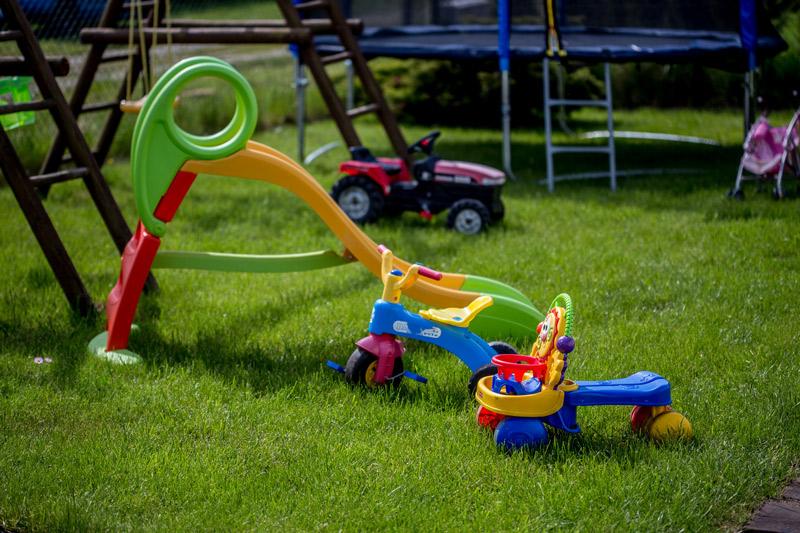 Podwórze dla dzieci